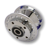 Front Chrome Wheel Hub