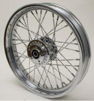 Twirled Spoke Front Wheel, 19 x  2.50