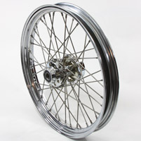 Replica 40 Spoke Front Wheel 21″× 2.15″
