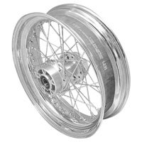 V-Twin Manufacturing Replica 40 Spoke Rear Wheel 17″× 4.5″