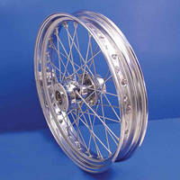 V-Twin Manufacturing Replica 40 Spoke Rear Wheel, 16 x 3