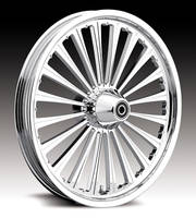 Milwaukee Twins Warrior Front Wheel, 16 x 3.5