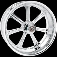 Roland Sands Design Diesel Chrome Front Wheel, 19 x 2.15