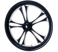 Arlen Ness G3 Black Rear Wheel, 17
