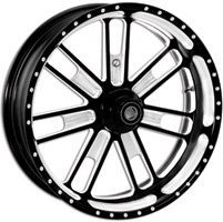 Roland Sands Design Slam Contrast Cut Front Wheel, 18″ X 3.5″