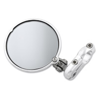 CRG 3″ Silver Hindsight Lane Splitter Right Bar End Mirror