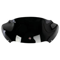 Klock Werks 9″ Black Sport Flare Windshield