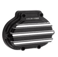 Arlen Ness 10-Gauge Black Cable Clutch Cover