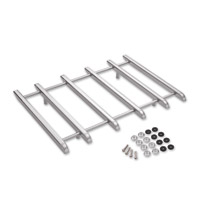 Show Chrome Accessories Chrome Six-Rail Vantage Rack