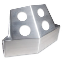 The Speed Merchant Brushed Aluminum Skid Plate