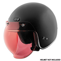 Speed and Strength Tint Rose Bubble Shield