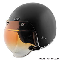 Speed and Strength Amber Gradient Bubble Shield