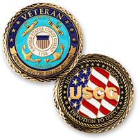 MotorDog69 Veteran Coast Guard Challenge Coin