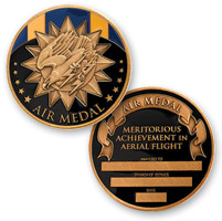 MotorDog69 Air Medal Challenge Coin
