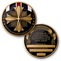 MotorDog69 Distinguished Flying Cross Challenge Coin
