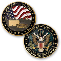 MotorDog69 September 11th Commemorative Challenge Coin
