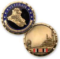 MotorDog69 OP Iraqi Freedom Challenge Coin