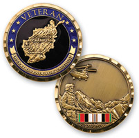 MotorDog69 OP Enduring Freedom Challenge Coin