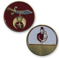 MotorDog69 MD69 Shriners Challenge Coin