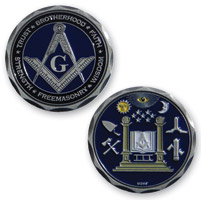 MotorDog69 MD69 Masonic Challenge Coin Set