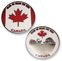 MotorDog69 Canadian Challenge Coin