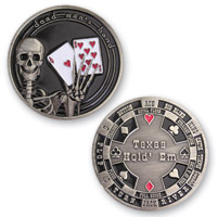 MotorDog69 Aces & 8's Challenge Coin