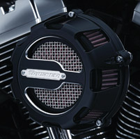Crusher Maverick Air Cleaner Black