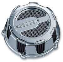 Crusher Maverick Air Cleaner Chrome