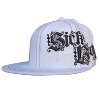 Sick Boy Sick Boy Chopped Fitted White Hat