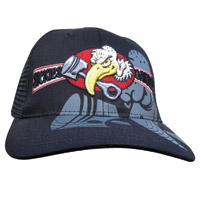 Sick Boy Sickies Garage Vulture Fitted Black Hat