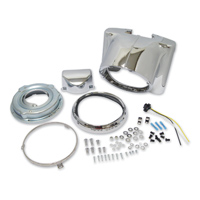 J&P Cycles® Chrome Nacelle Headlamp Kit