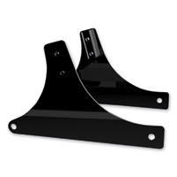 Khrome Werks Black Sissy Bar Side Plates