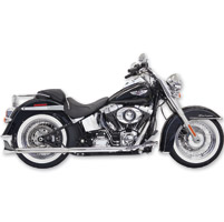 Bassani True Dual with 30″ Fishtail Mufflers