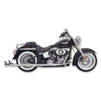 Bassani True Dual with 36″ Fishtail Mufflers