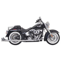 Bassani True Dual with 33″ Fishtail Mufflers