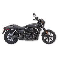 Bassani 4″ Black Megaphone Slip-On Mufflers