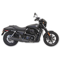 Bassani 4″ Black Straight Cut Slip-On Mufflers