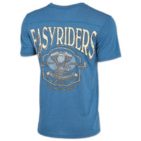 Easyriders Men's Gravel Teal T-Shirt