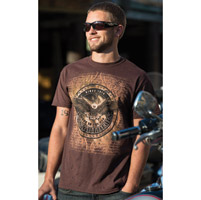 Easyriders Men's Republic Brown T-Shirt