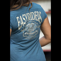 Easyriders Women's Gravel Teal T-Shirt