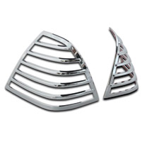 SoCalMotoGear Chrome Trunk Light Guards