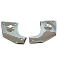 SoCalMotoGear Chrome Pivot Covers