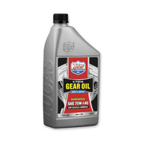 Lucas Synthetic 75W-140 V-Twin Gear Oil