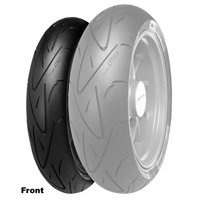 Continental Conti Sport Attack-Hypersport 130/70ZR-16 Front Tire