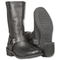 Highway 21 Men's Spark Harness Black Boots