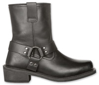 Highway 21 Men's Spark Harness Low Black Boots