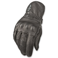 Highway 21 Men's Hook Black Gloves