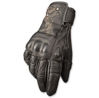 Highway 21 Women's Ivy Black Leather Gloves
