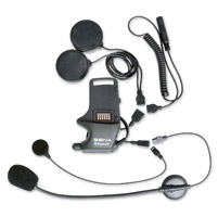 Sena Technologies SMH10 Helmet Clamp Kit for Speakers & Earbuds with Microphone