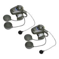 Sena Technologies SMH5 Dual Pack Bluetooth Headset/Intercom Full Face Helmet Kit w/FM Tuner